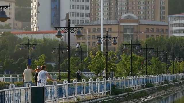 绥芬河北海公园,来看雨后美景