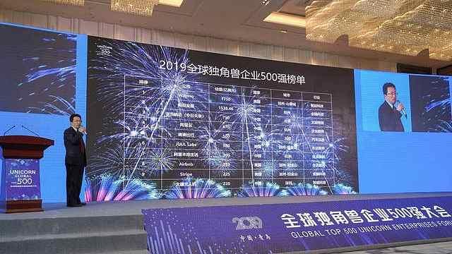 全球独角兽500强,中国数量第一