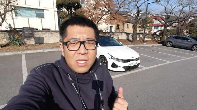 韩国试驾全新起亚K5
