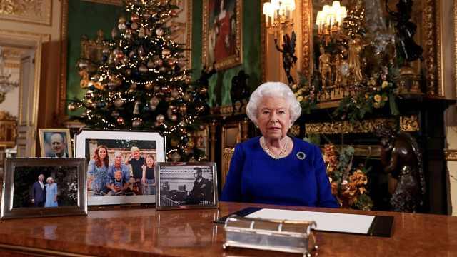女王發表圣誕演講!今年王室有點難