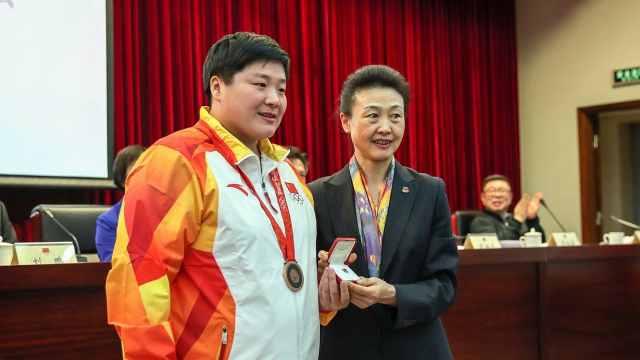 迟到11年!中国选手递补获奥运奖牌