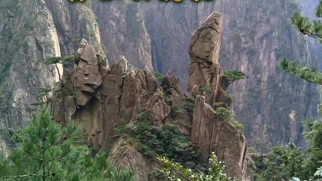 黄山怪石一绝,妙趣横生的自然世界