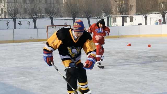 中学成立学生冰球队,装备免费提供