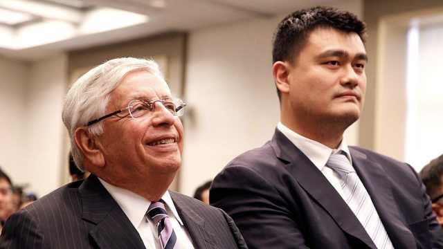 斯特恩与中国:等待数小时推销NBA