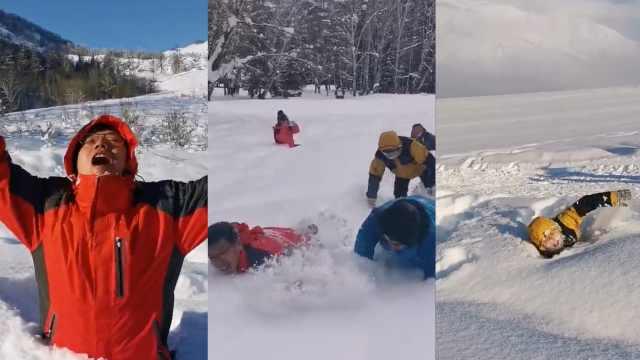 新疆大雪征服东北人:这里雪更温柔