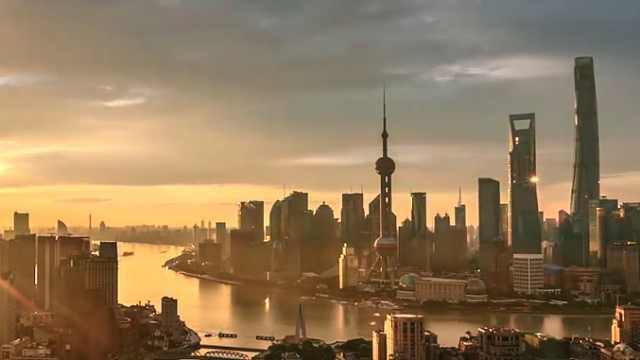 五版城市规划图了解上海的过去未来