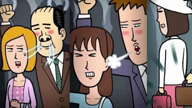 日本新型痴汉引控诉,男性表示冤枉