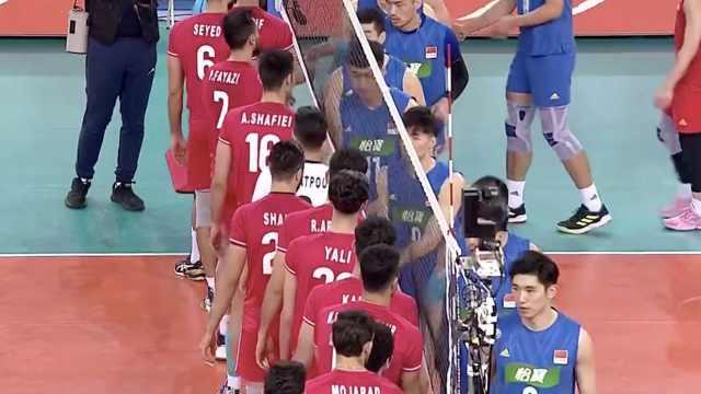 遗憾!决赛负伊朗,中国男排无缘东京
