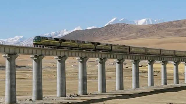 为什么青藏铁路只有单线轨道?