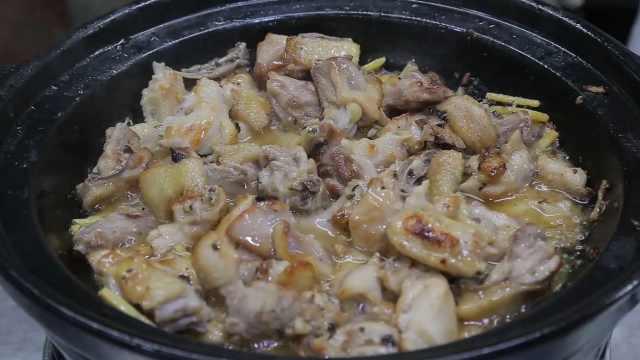 为选好食材不断在吃鸡,大厨全新演绎黑松露焗鸡