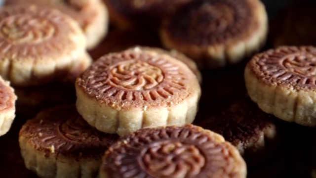 薄荷紫苏月饼,清凉甜酥一口就沦陷