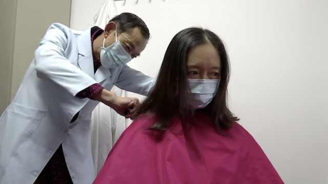 杭州70后护士请战疫情,剪发赴武汉