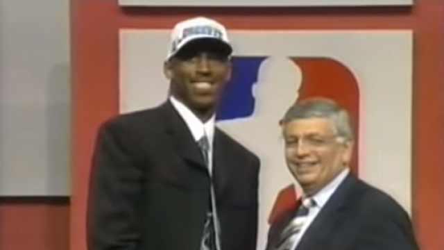 回忆杀:1996年科比当选NBA新秀