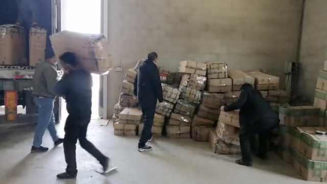 菜农捐20吨茄子,直送协和医院食堂