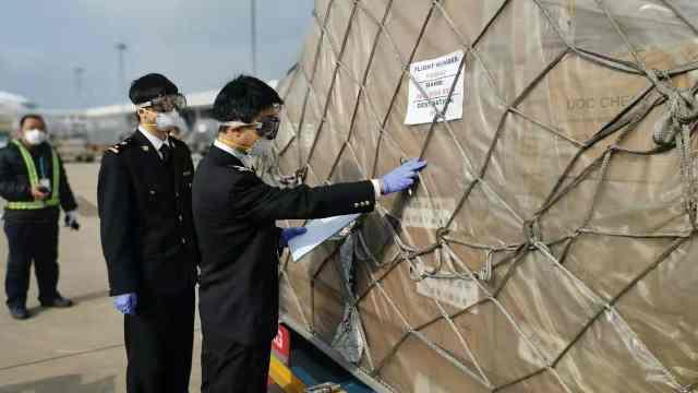 菲律宾华侨华企捐赠17吨抗疫物资
