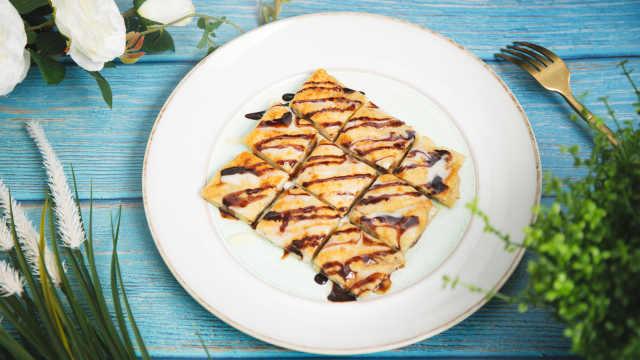 外酥里嫩泰式香蕉煎饼,甜蜜好滋味