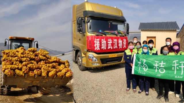 大学教授捐105吨土豆:自己团队种植