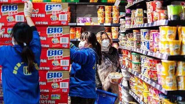 大型连锁超市网点开业率在95%左右