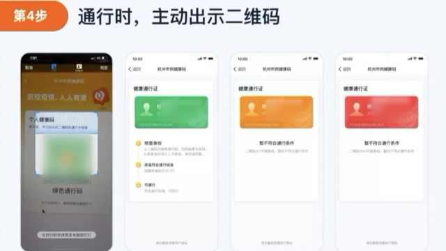 杭州健康码3色管控:绿通行,红隔离