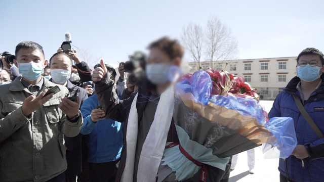 西藏首例治愈者离开拉萨暂留格尔木