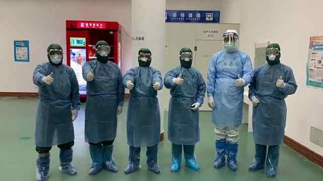 江苏医疗队接管武汉方舱医院