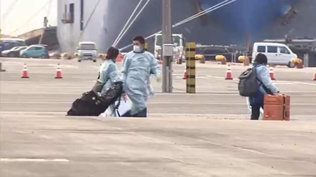 日本邮轮官员或因未戴护目镜被感染
