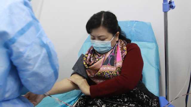 张定宇妻子康复出院:捐血浆救患者