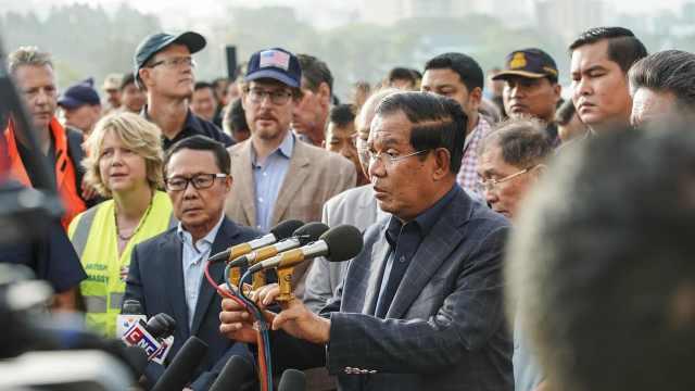 柬埔寨首相欲为滞留邮轮乘客办晚宴
