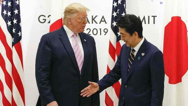 特朗普或出席东京奥运:安倍已邀请