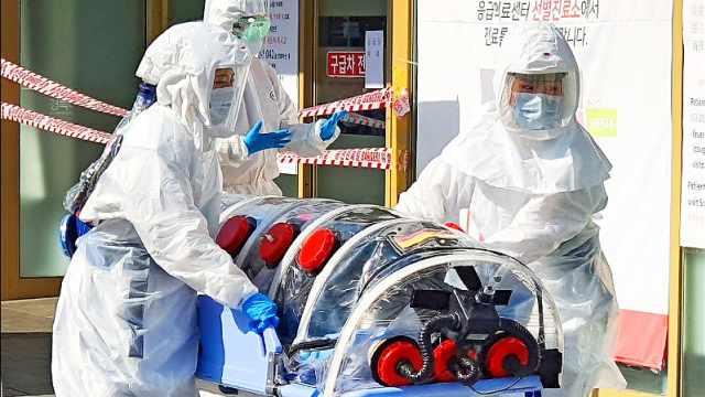 韩国感染者增至156例,三军内均有