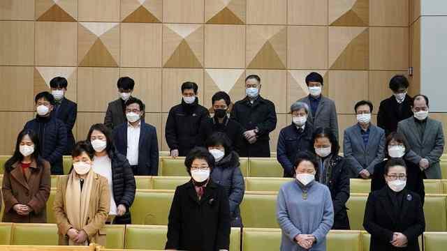 韩又一牧师确诊,参加了数千人礼拜