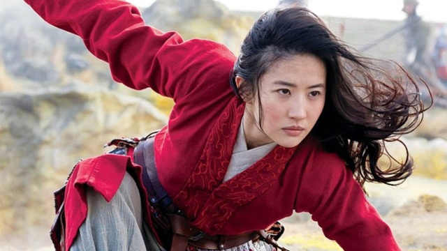 《花木兰》刘亦菲吻戏被删原因
