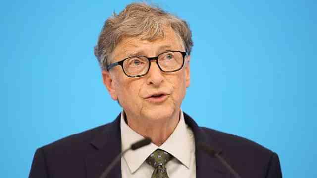 盖茨:新冠肺炎或成百年不遇流行病