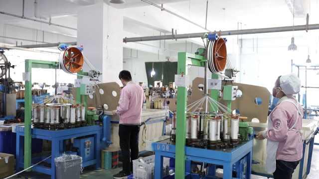 绳缆厂改生产线,日产50万米口罩绳