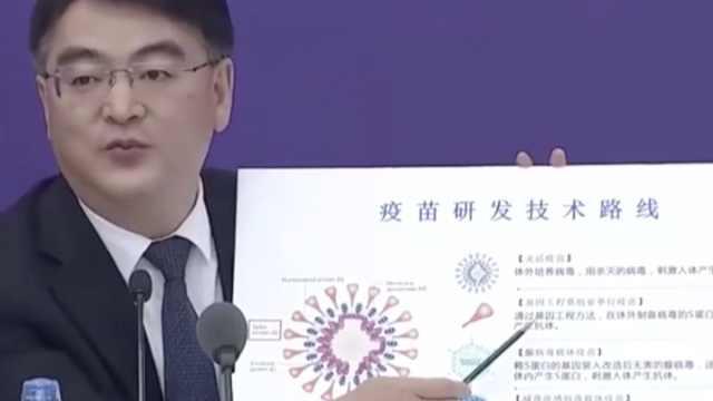 卫健委:新冠疫苗正按5条路线研发