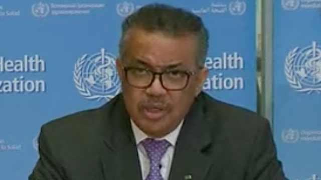 WHO警告:各国不能任由病毒摆布