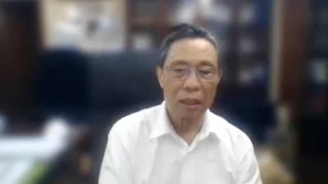 钟南山分享中国抗疫经验,全程英文