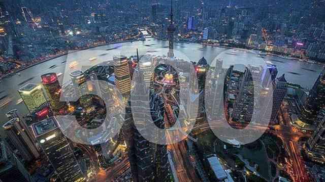 世界500强企业,中国首次超越美国