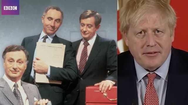 《是大臣》神预言走红:和首相约翰逊的疫情应对完全吻合