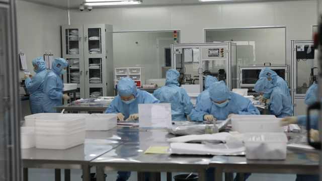 四川研发新冠肺炎检测试剂盒:2小时测96个,助30个国家抗疫