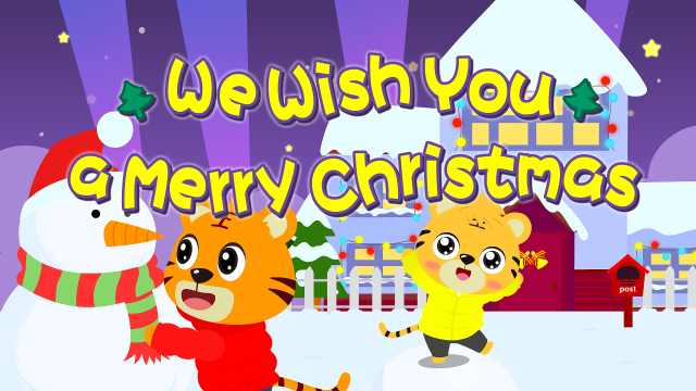 贝乐虎儿歌《We Wish You A Merry Christmas》