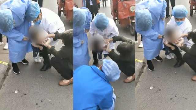 女童吞糖果卡喉窒息,医生用海姆立克急救法救回一命