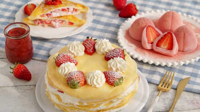 草莓的N种神仙吃法,让你少女心炸裂!