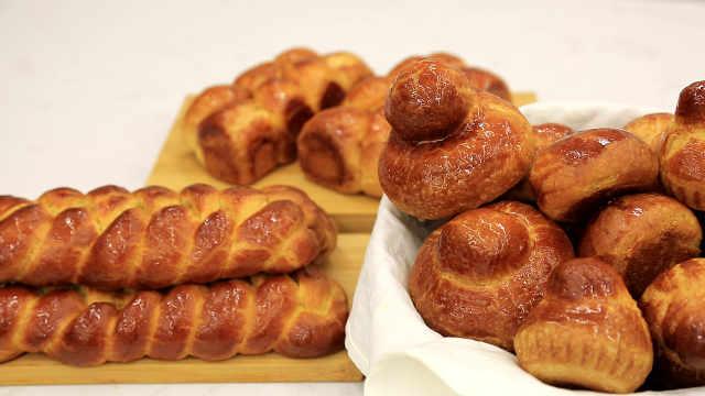 基础布里欧修:元老级高糖高油的软面包