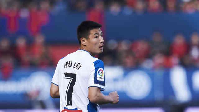 中国球员武磊确诊新冠,已出现发烧胸痛症状