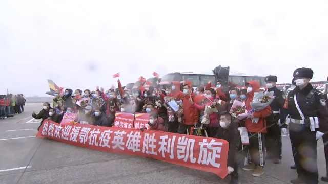 黑龙江医疗队回家见下雪直呼亲切,水果医生拍vlog留给儿子看