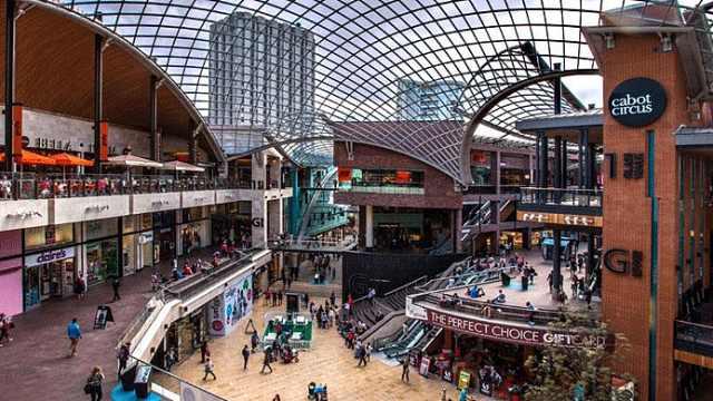 英国最大购物中心只收到37%房租,汉堡王等拒交