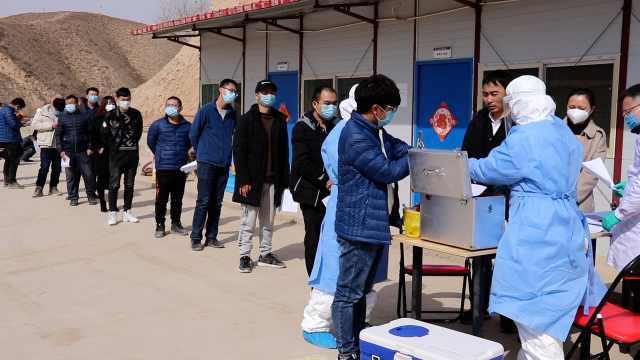 持绿码复工男子确诊后,湖北返甘肃人员全部要求核酸检测