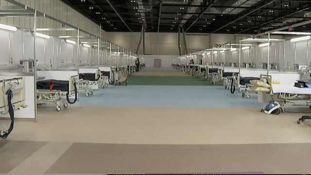 英国伦敦方舱医院建成:200名士兵参与建设,可容纳4000患者