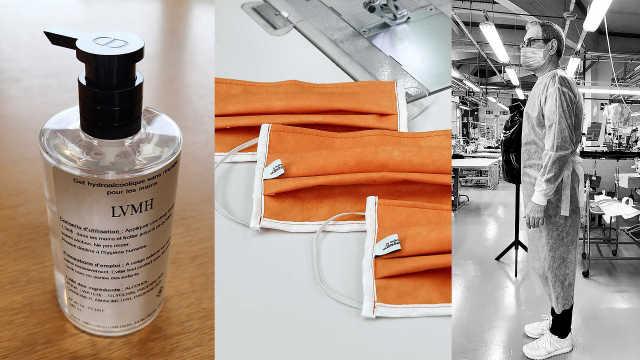 奢侈品巨头防疫品大全:香奈儿洗手液、劳斯莱斯呼吸机......